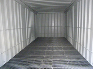 106 - 20' container with retaining tank in the floor IP1 or IP2