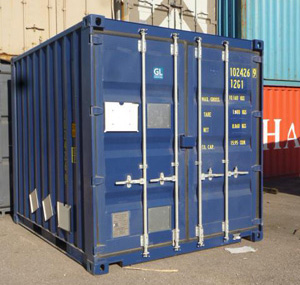102 – 10' DRY container (for nuclear waste transport, IP1 or IP2or other use)