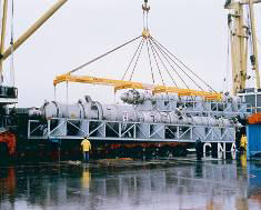 Lifting beam for heavy or/and bulky cargoes